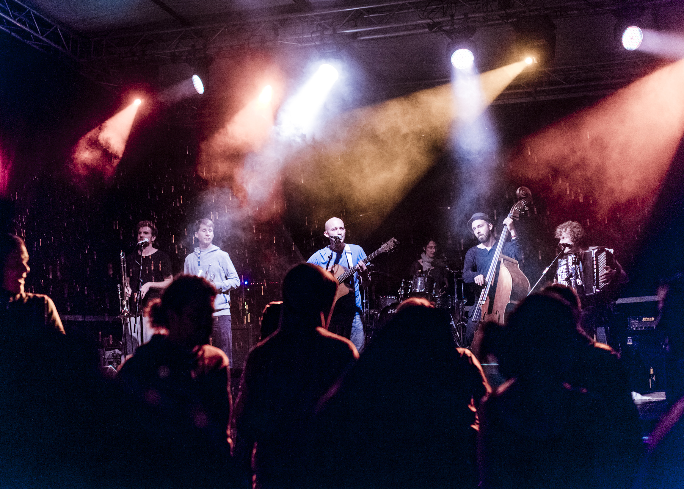 """SkaZka Orchestra"" beim 33. Römersee Open Air 2014 (Foto: David Prior)"