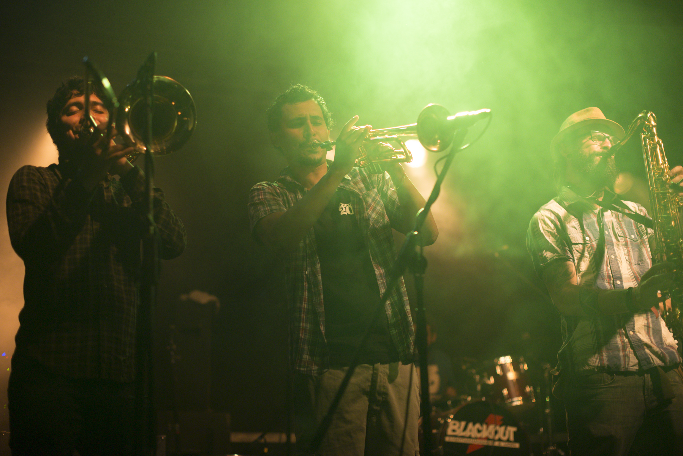 """Gypsy Ska Orquesta"" beim 33. Römersee Open Air 2014 (Foto: David Prior)"